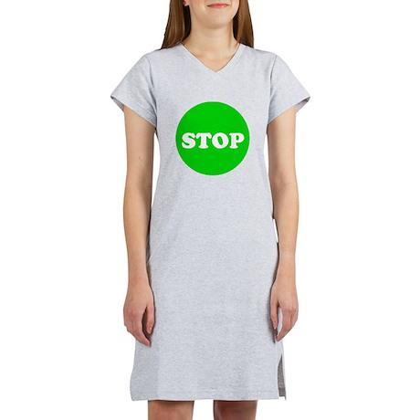 Stop Green Light Women's Nightshirt