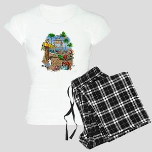Parrot Beach Shack Women's Light Pajamas