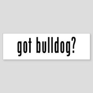 GOT BULLDOG Sticker (Bumper)