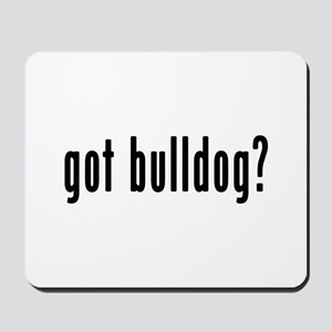 GOT BULLDOG Mousepad