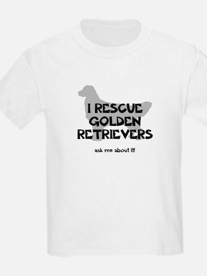 I RESCUE Golden Retrievers T-Shirt