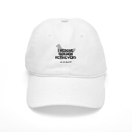 I RESCUE Golden Retrievers Cap