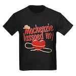 Mackenzie Lassoed My Heart Kids Dark T-Shirt