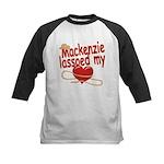 Mackenzie Lassoed My Heart Kids Baseball Jersey