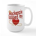 Mackenzie Lassoed My Heart Large Mug
