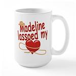 Madeline Lassoed My Heart Large Mug