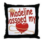 Madeline Lassoed My Heart Throw Pillow