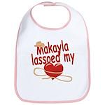 Makayla Lassoed My Heart Bib