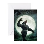 Howl of the Werewolf - Greeting Cards (Pk of 10)