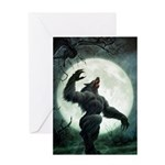 Howl of the Werewolf - Greeting Card