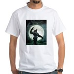 Howl of the Werewolf - White T-Shirt