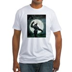 Howl of the Werewolf - Fitted T-Shirt
