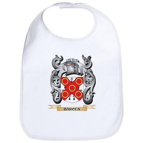 Baroux Family Crest - Baroux Coat of Arms Baby Bib