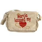 Marcia Lassoed My Heart Messenger Bag