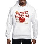 Margaret Lassoed My Heart Hooded Sweatshirt