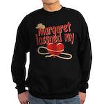 Margaret Lassoed My Heart Sweatshirt (dark)