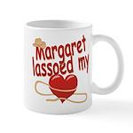 Margaret Lassoed My Heart Mug