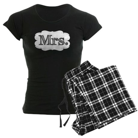 His & Hers Women's Dark Pajamas