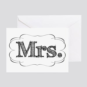 His & Hers Greeting Cards (Pk of 20)