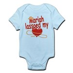 Mariah Lassoed My Heart Infant Bodysuit