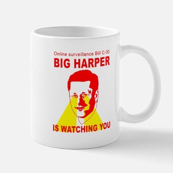 Bill C-30 BIG HARPER Mug