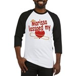 Marissa Lassoed My Heart Baseball Jersey