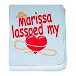 Marissa Lassoed My Heart baby blanket