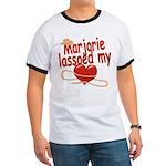Marjorie Lassoed My Heart Ringer T
