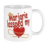 Marjorie Lassoed My Heart Mug