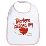Marlene Lassoed My Heart Bib
