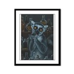 Pirate Lemur Framed Panel Print