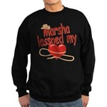 Marsha Lassoed My Heart Sweatshirt (dark)