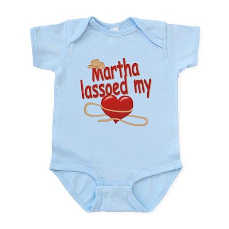 Martha Lassoed My Heart Infant Bodysuit