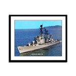 USS KING Framed Panel Print