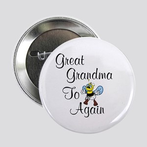 Great Grandma To Bee Again Button