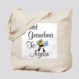 Great Grandma To Bee Again Tote Bag