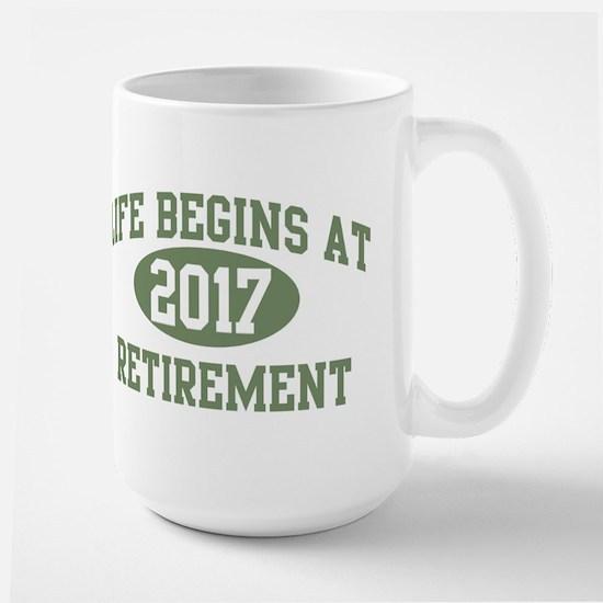 Life begins 2017 Mugs