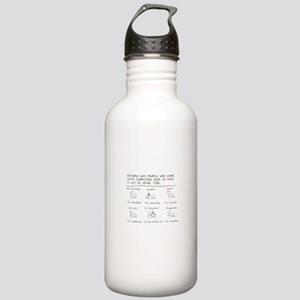 Spare Time Stainless Water Bottle 1.0L