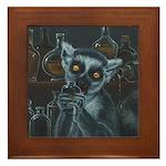 Pirate Lemur Framed Tile