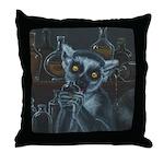 Pirate Lemur Throw Pillow