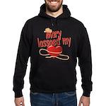 Mary Lassoed My Heart Hoodie (dark)