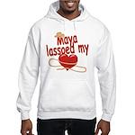 Maya Lassoed My Heart Hooded Sweatshirt
