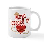 Maya Lassoed My Heart Mug