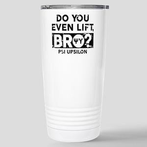 Psi Upsilon Do Yo 16 oz Stainless Steel Travel Mug