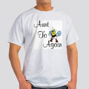 Aunt To Bee Again Ash Grey T-Shirt
