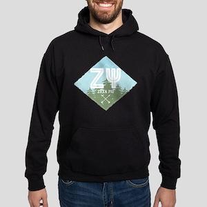 Zeta Psi Hoodie (dark)