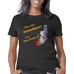 2nd amendment gun permit l Women's Classic T-Shirt