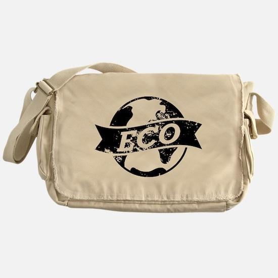 Eco Earth Messenger Bag