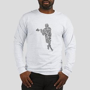 Lacrosse Terminology Long Sleeve T-Shirt