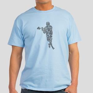 Lacrosse Terminology Light T-Shirt